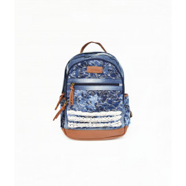 Fancy denim backpack